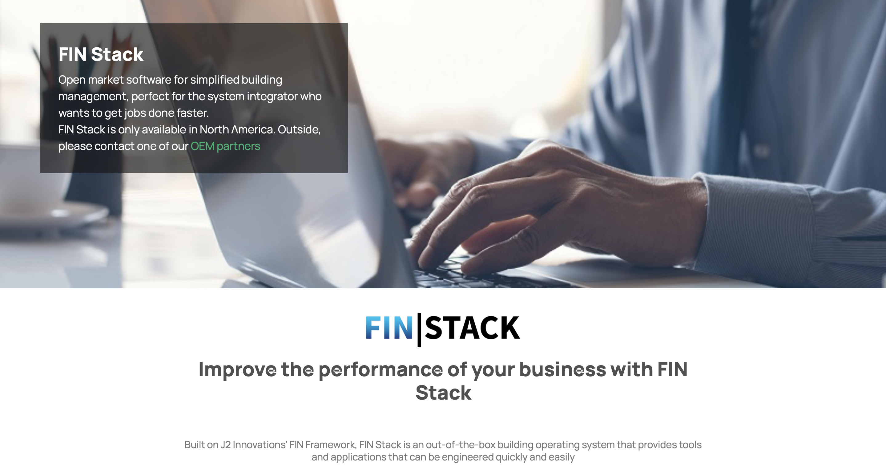FIN Stack Webpage