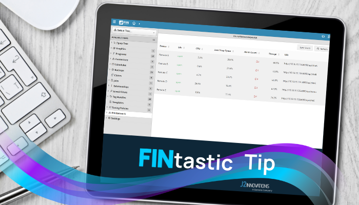 FINtastic Tip - FIN Network Tree