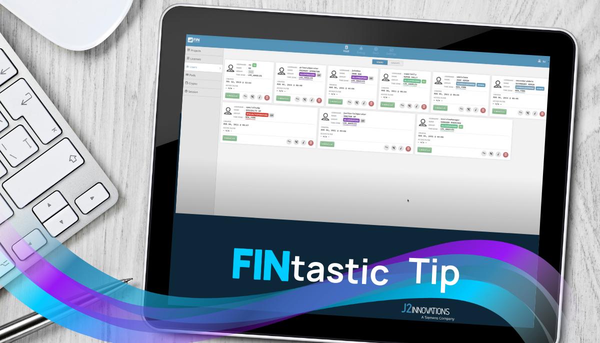 FINtastic Tip User Groups