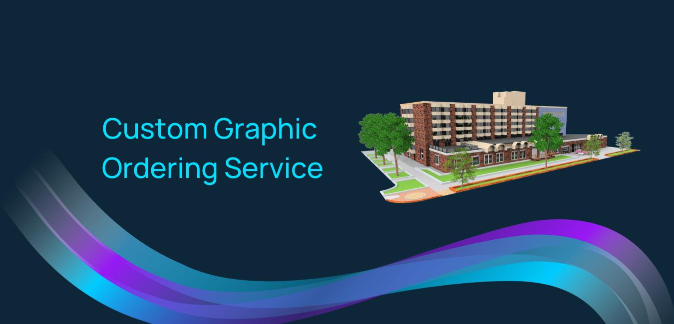 Custom graphic ordering service