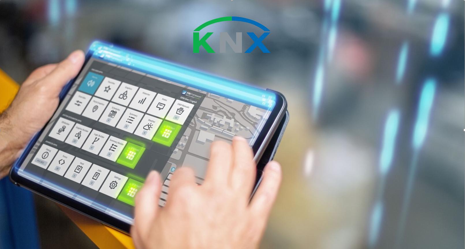 KNX ipad image