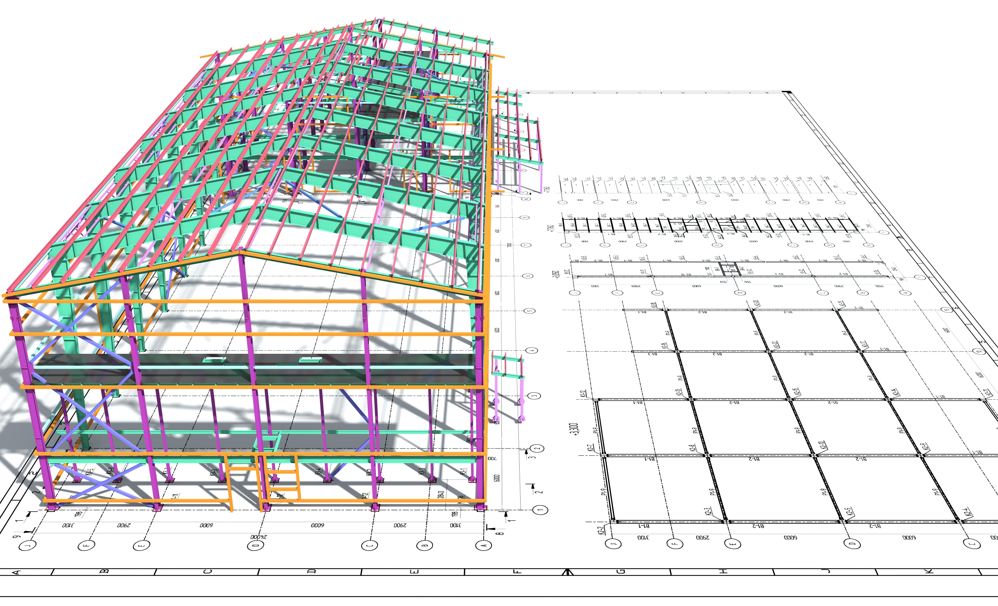 Prefabricated Building Plan