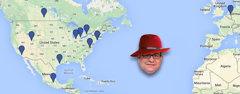 Where in the World is Gerard Huff?