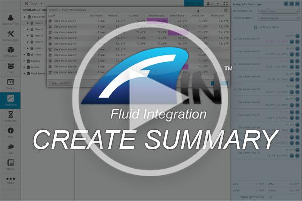 Creating Equipment Summaries in FIN Stack