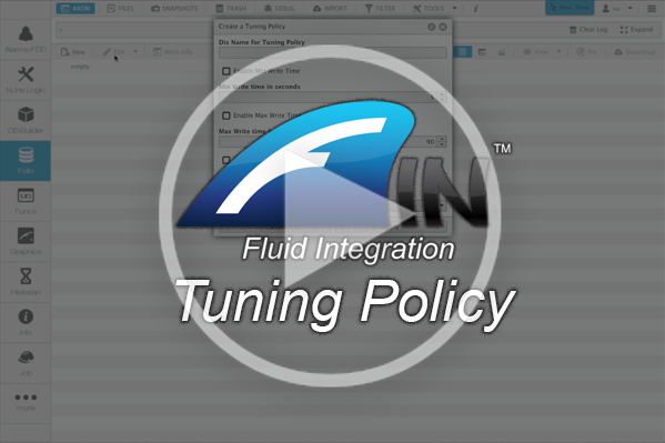 Tuning Policies in FIN Stack
