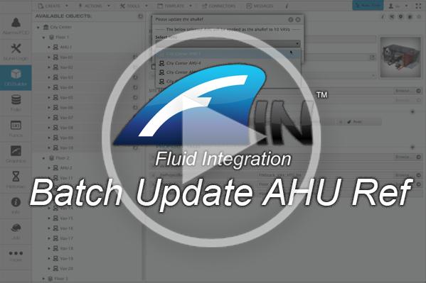 Batch Update AHU Refs in FIN Stack