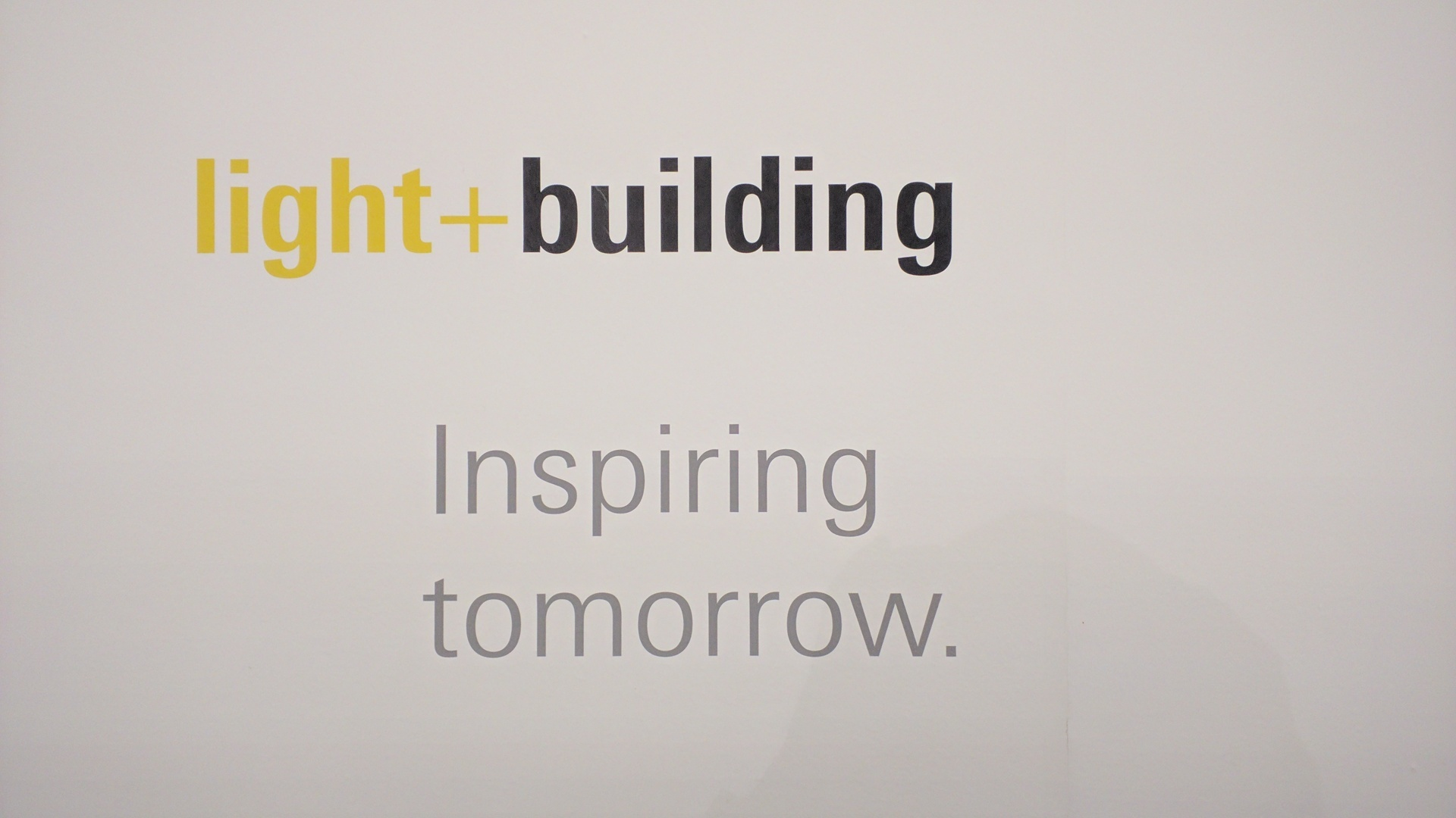 Light+Building Recap
