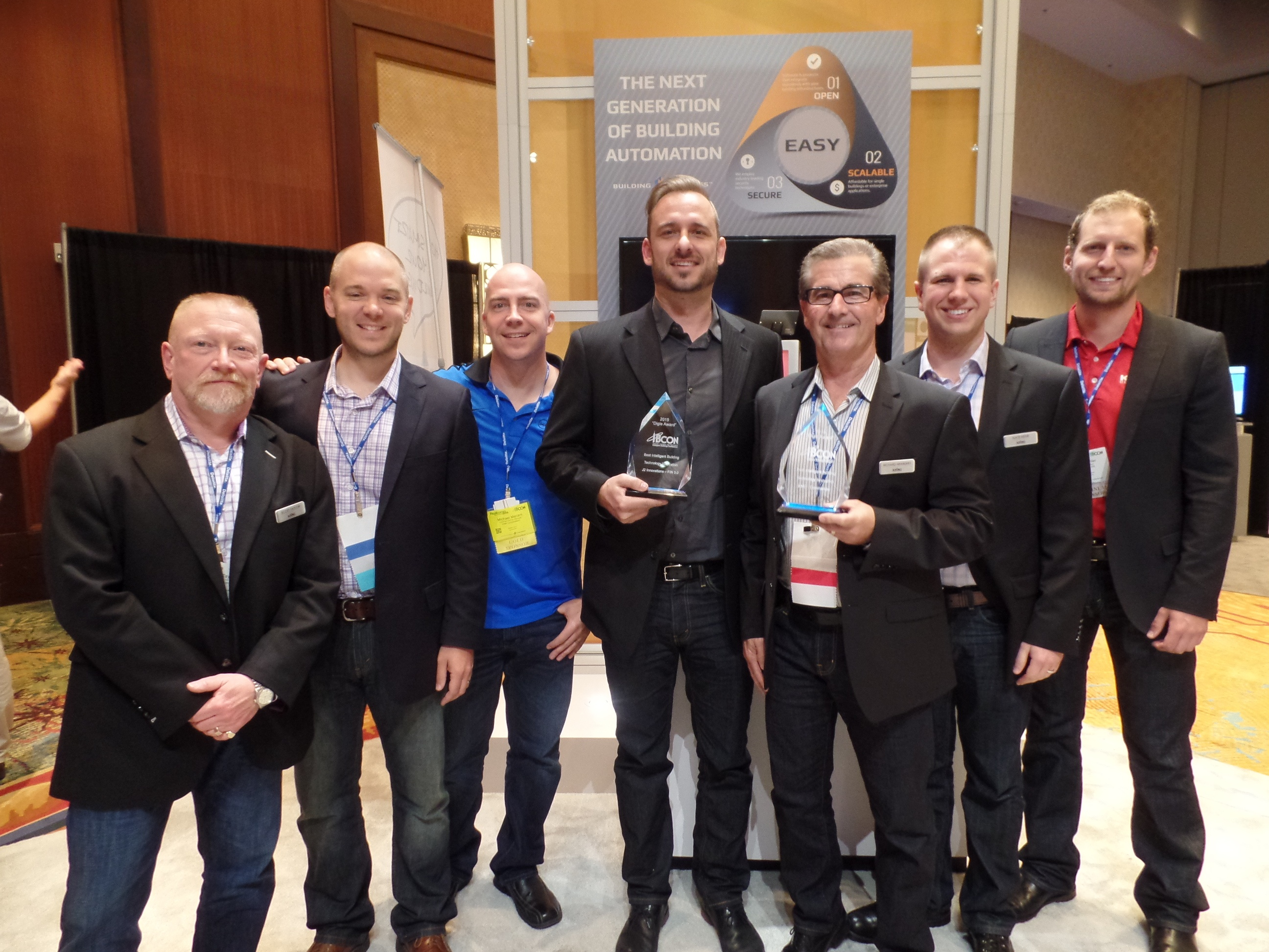 KMC Controls awarded Best Intelligent Building Technology Innovation