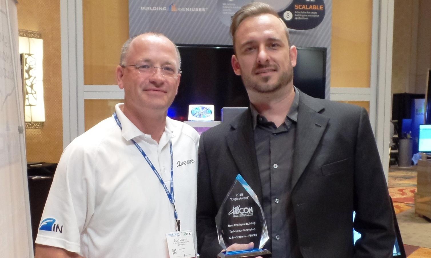 J2 Innovations brings home Best Intelligent Building Innovation award